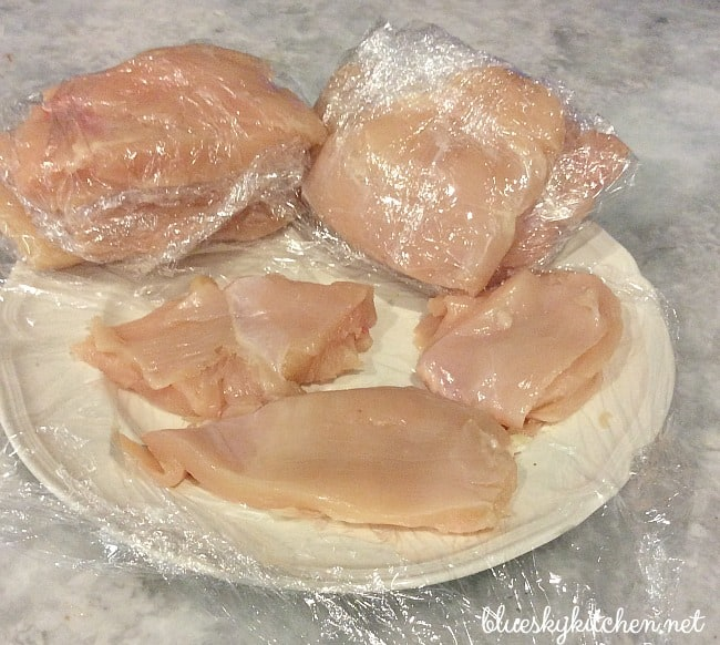 How to prepare chicken breasts