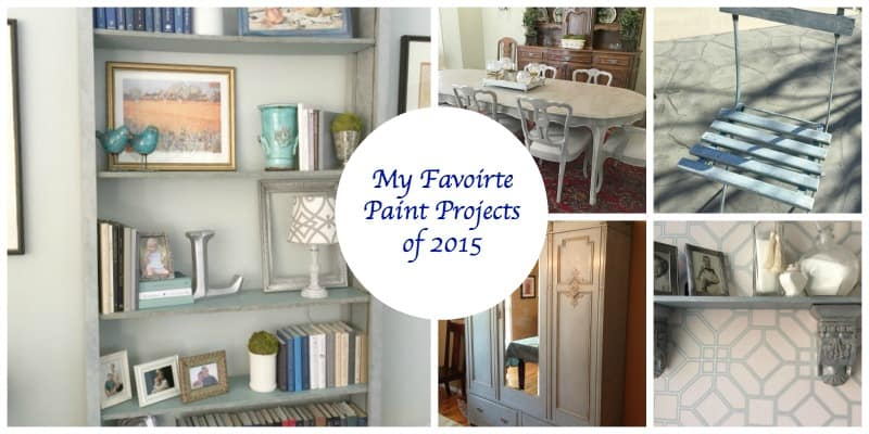 My Favorite Paint Projects of 2015