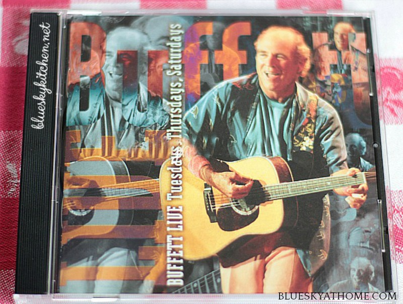 cover of Jimmy Buffet CD