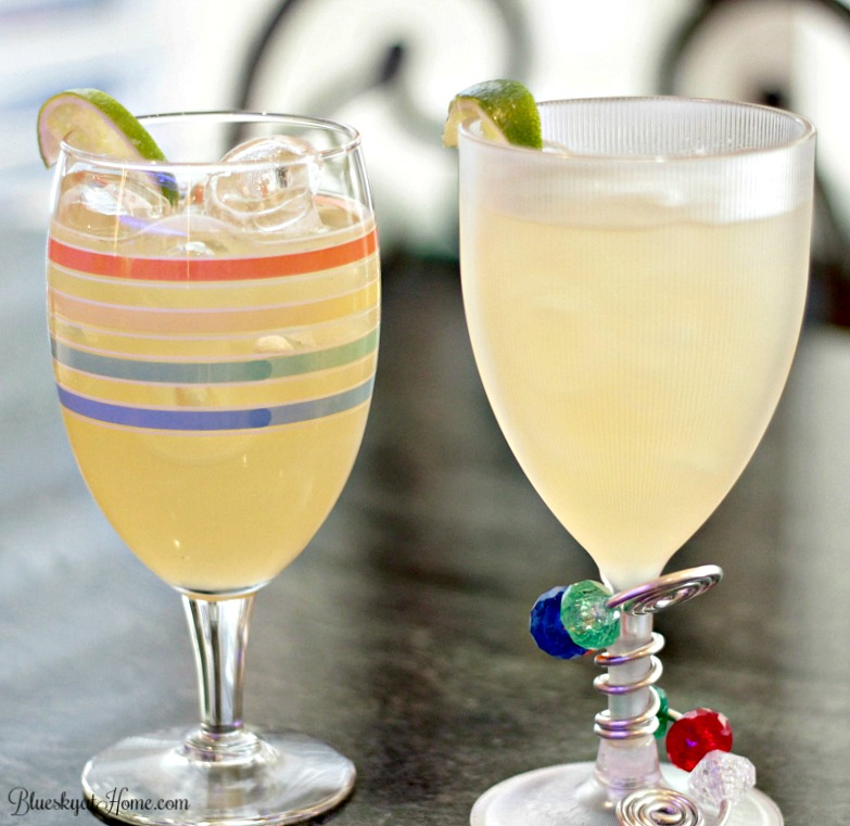 Celebrate the Marvelous Margarita, America's favorite cocktail with this delicious version perfect for summertime by the pool. Get the recipe and the how~to from an expert bartender. BlueskyatHome.com #margarita #tequila #grandmarnier #summerdrinks #cocktails #summercocktails #cocktailrecipes #howtomakeamargarita