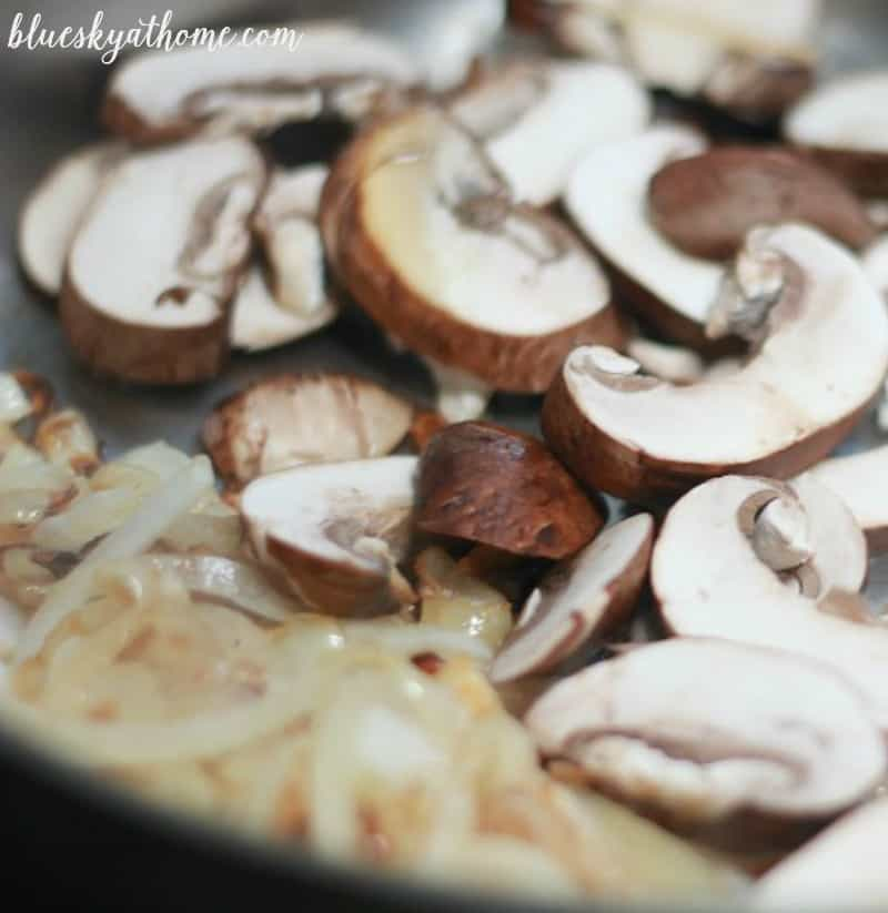 Mushroom and Onion Braised Chicken is an easy, delicious weeknight main course, but nice enough for company on the weekend. Easy~to~follow instructions.