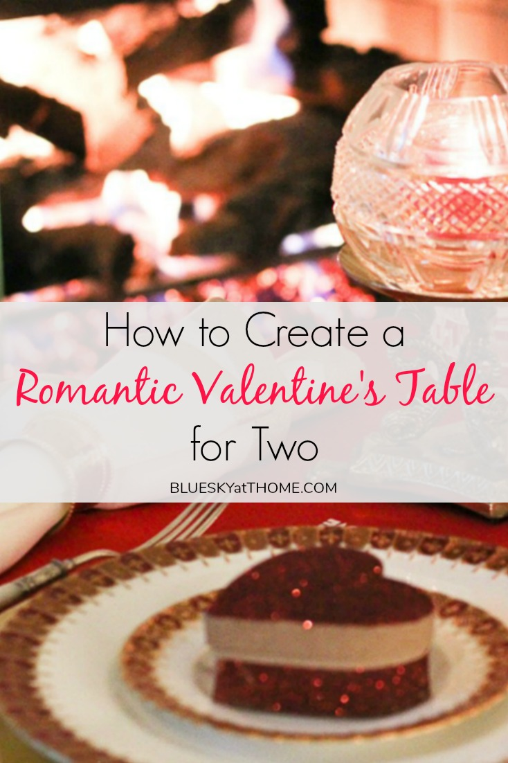 How to Create a Romantic Valentine's Table for Two graphic
