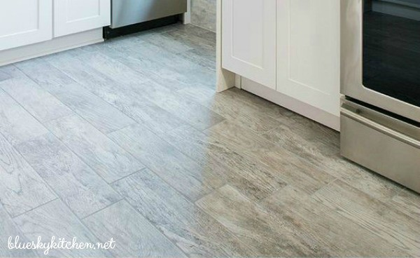 5 Reasons Why I Chose My New Office Floor ~ durability, beauty, availability, cost, and installation are reasons for choosing a particular floor.