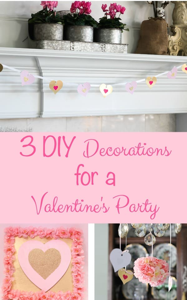 Do It Yourself House Drafting: 3 Easy DIY Valentine Decorations Under $10