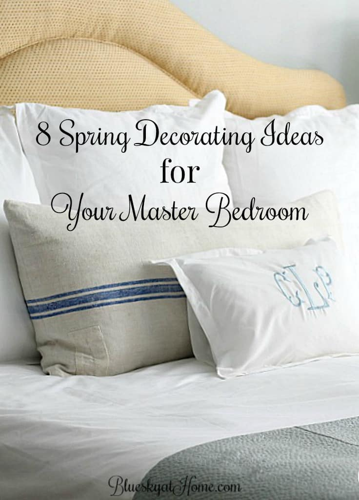 40 Spring Decorating Ideas For Your Master Bedroom Bluesky At Home Magnificent Bed Pillow Decorating Ideas
