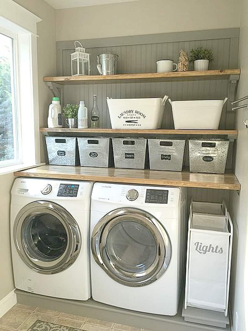 17 Laundry Room Ideas I Found for Inspiration ~ Bluesky at Home