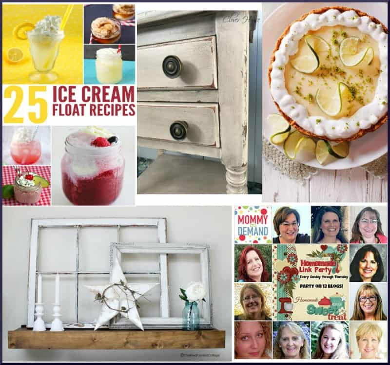 Happiness is Homemade Link Party #177. Share the best of DIY, crafts, recipes, home decor, tablescape and all around great ideas.