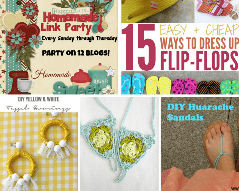 Happiness is Homemade Link Party 179 share the best DIY, crafts, tablescapes, recipes and home decor ideas from great bloggers. Add your posts to the party.