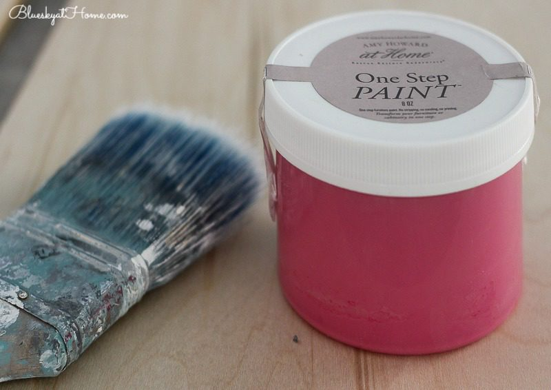 pink one step paint