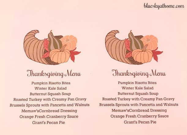 How to Make a Menu Card for Your Next Party. Want to share your menu with your guests? Here's how to design and print one using PicMonkey. BlueskyatHome.com