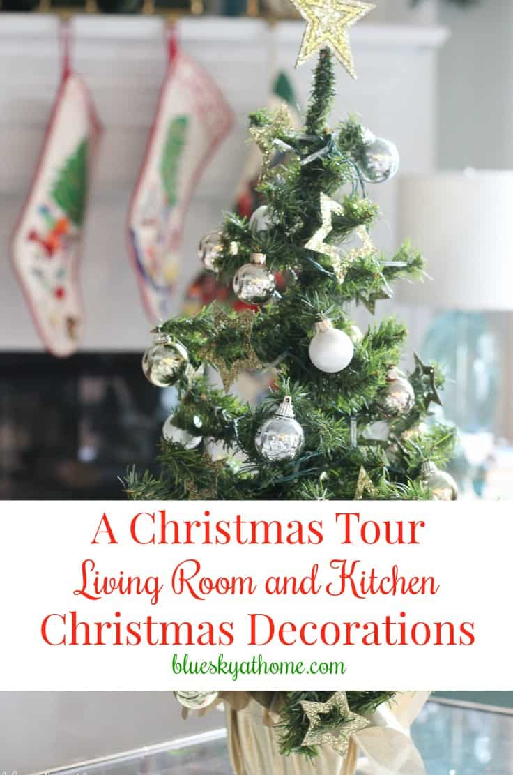 Living Room and Kitchen Christmas Decorations. What can turn your everyday home into a festive