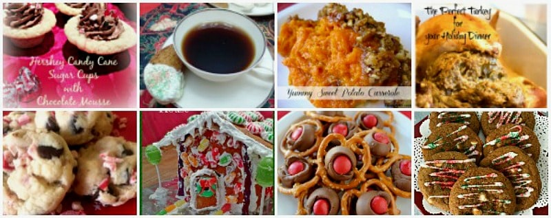 Happiness is Homemade Link Party 201. It's a wonderful time to share Christmas ideas for decorations, gifts,and recipes. BlueskyatHome.com