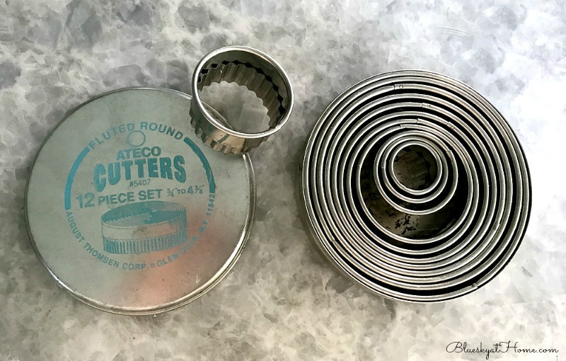 fluted cooking cutters