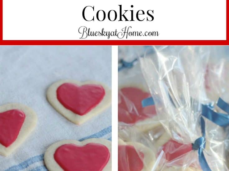 How To Make The Prettiest Little Valentine S Cookies Bluesky At Home