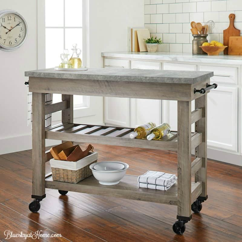 How To Turn A Console Table Into Kitchen Island Bluesky
