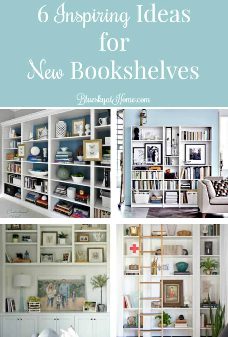 6 Inspiring Ideas For New Bookshelves When Living Room Are On Your Wish