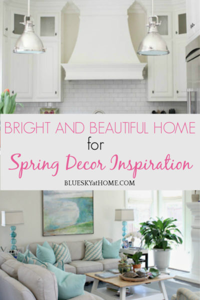 Bright and Beautiful Home for Spring Decor Inspiration graphic