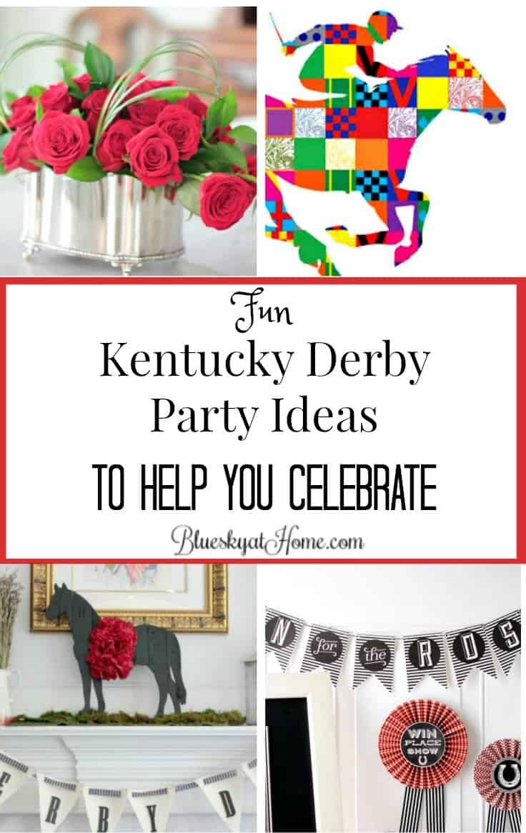 Fun Kentucky Derby Party Ideas to Help You Celebrate ~ Bluesky at Home