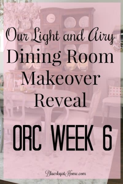 Our Light and Airy Dining Room Makeover