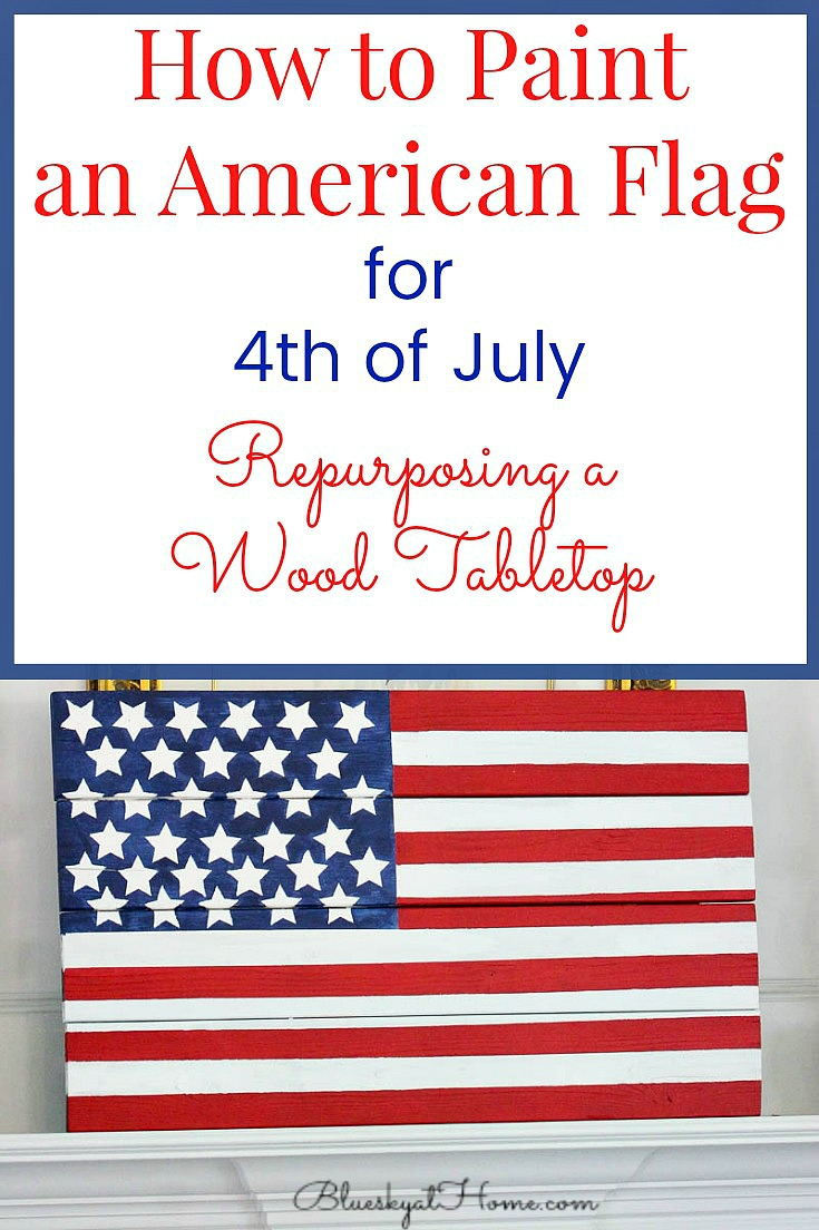 July 4 Red White /& Blue Flag American Kitchen Towel