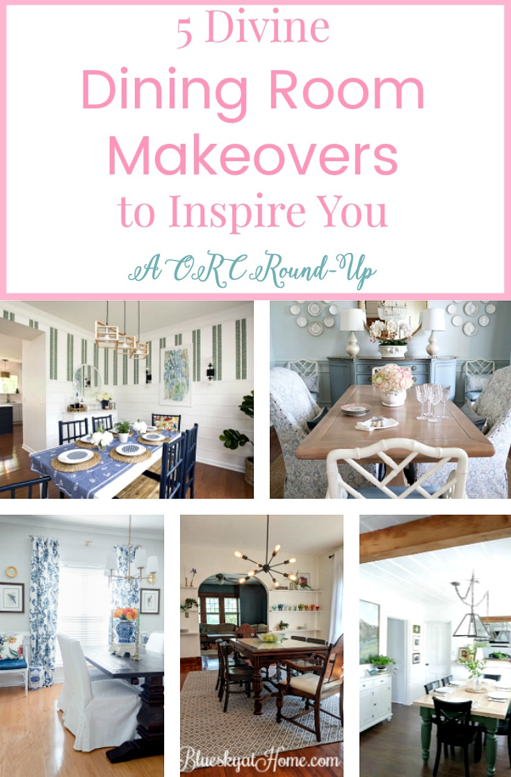 Orc Dining Room Office Reveal Video: 5 Divine Dining Room Makeovers