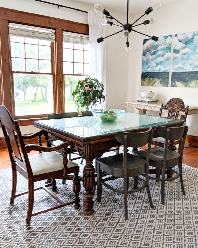 5 Divine Dining Room Makeovers ~ A ORC Round~Up ~ Bluesky at ...