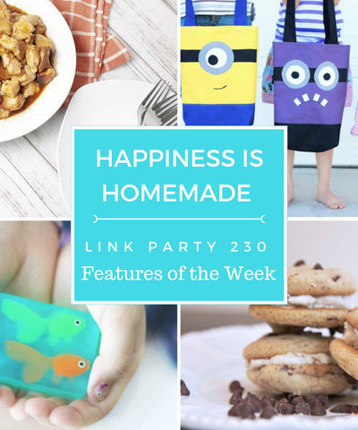 Happiness is Homemade Link Party 230. Share home decor, DIY, crafts, tablescapes, recipes on this best link party. BlueskyatHome.com #linkparty #linkparties