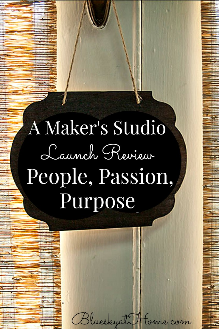 A Makers' Studio Launch graphic