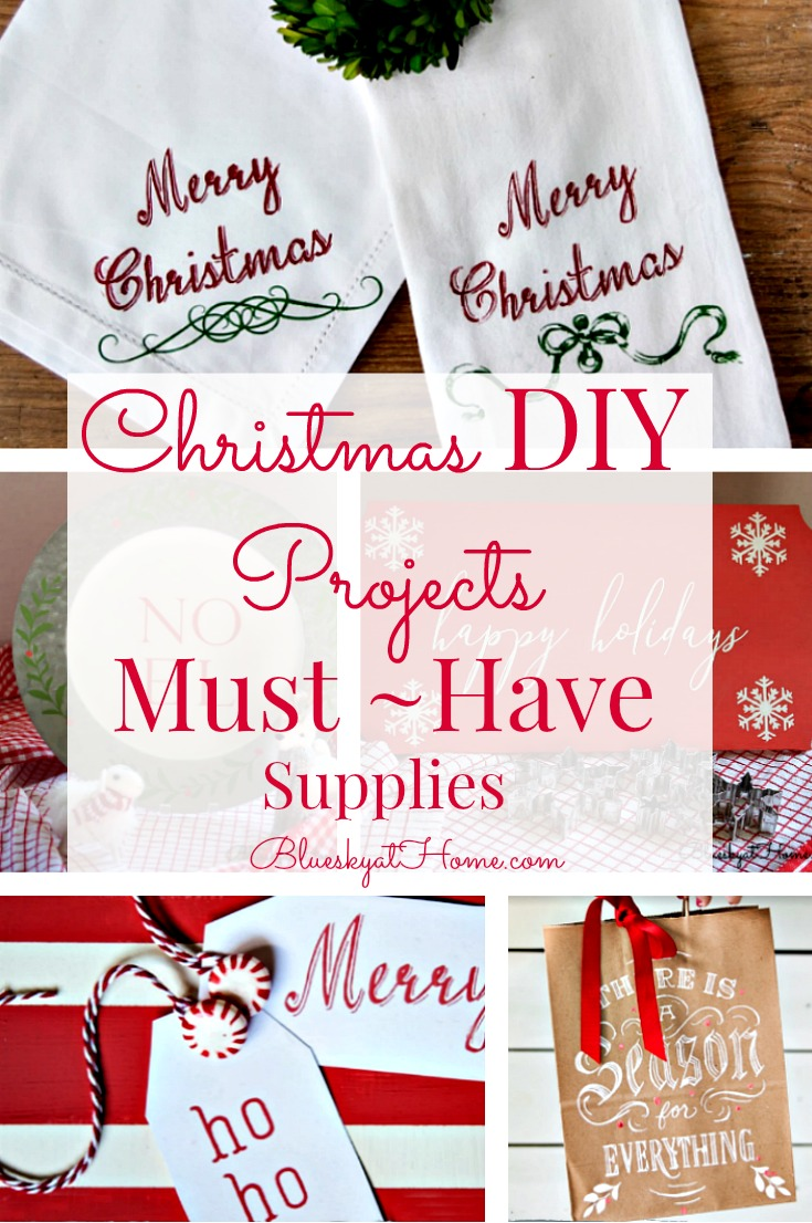 Christmas Diy Projects Must Have Supplies Bluesky At Home