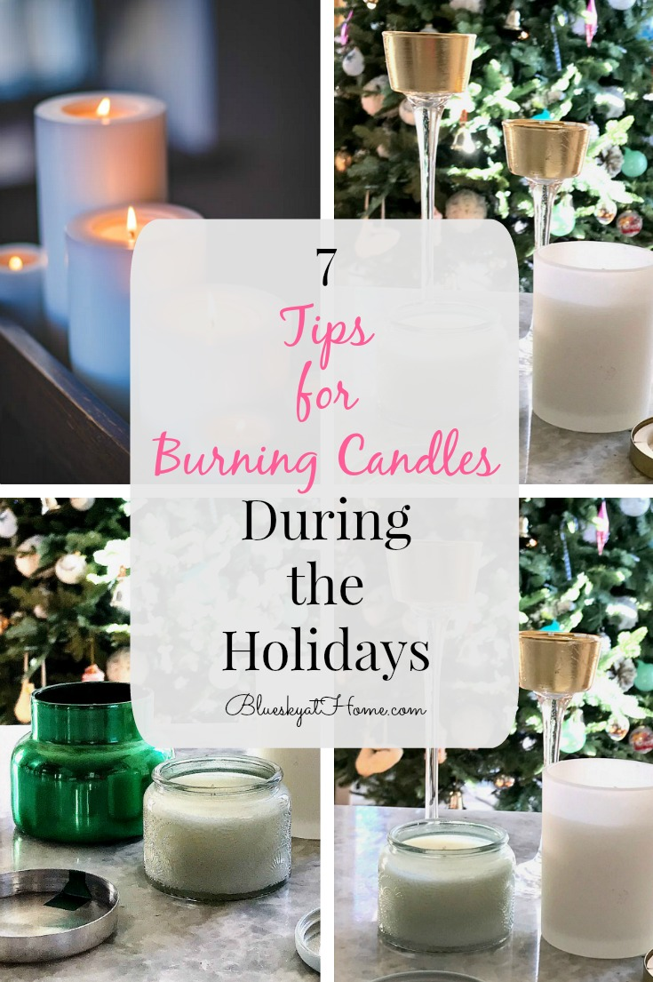 tips for burning candles