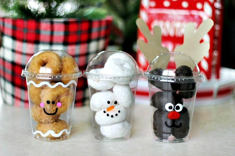 holiday treat cups