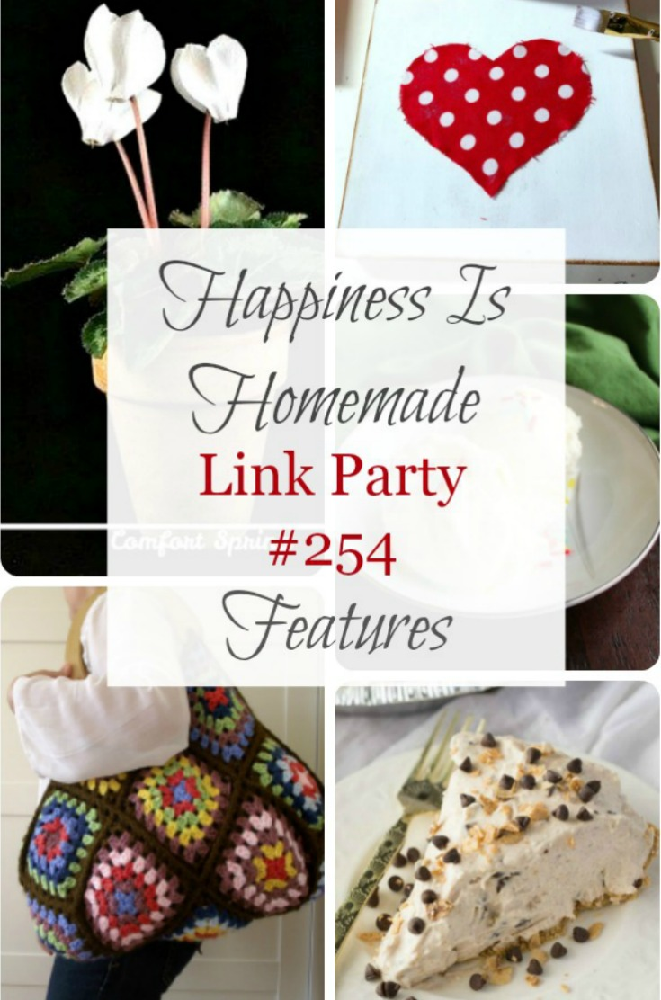 Happiness is Homemade Link party graphic
