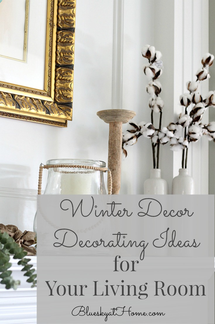 Winter decor graphic