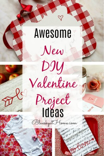 Awesome New DIY Valentine Project Ideas graphic