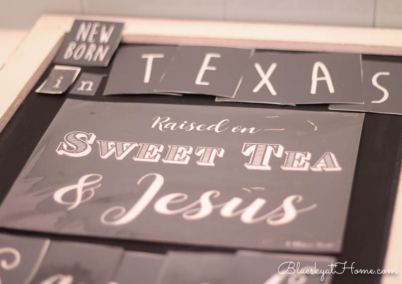 using stencils to make signs