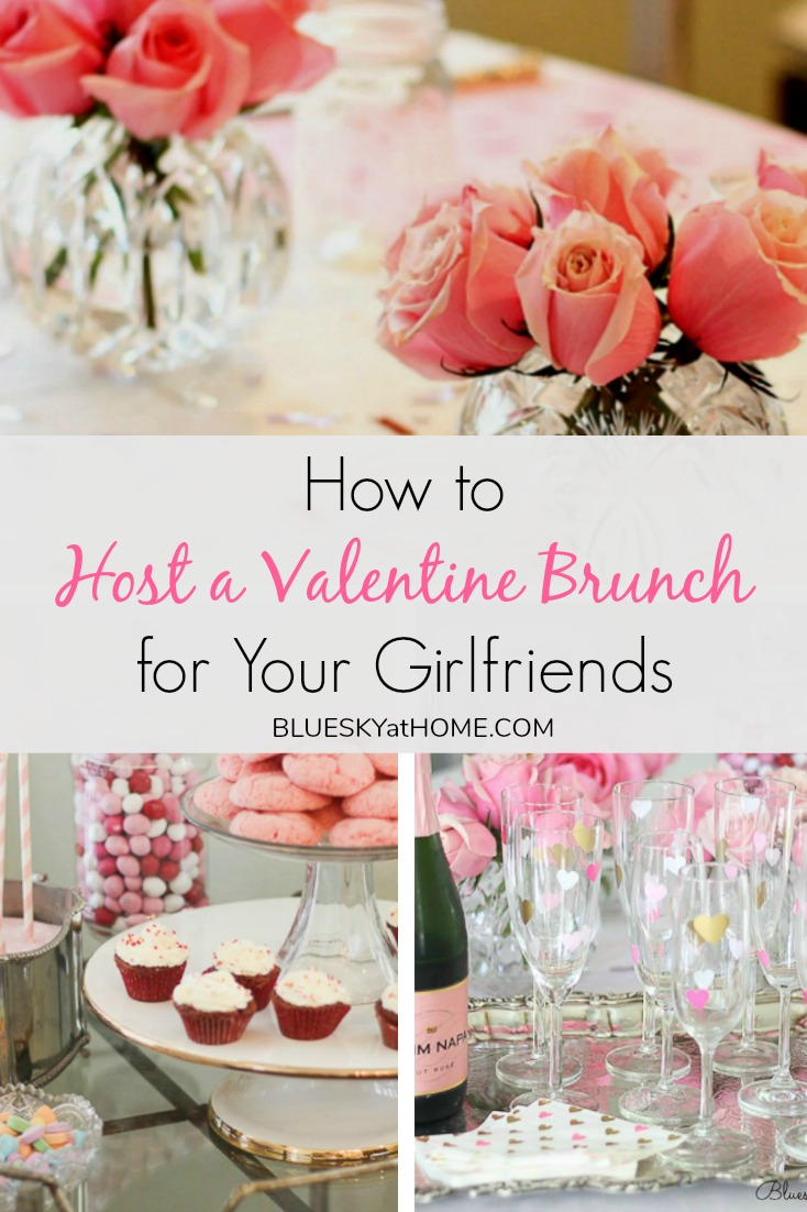 How to Host a Valentine Brunch for Your Girlfriends graphic