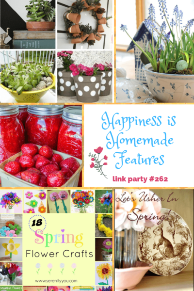 Happiness is Homemade Link Party 262 graphic