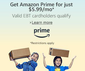 Amazon Prime Offer
