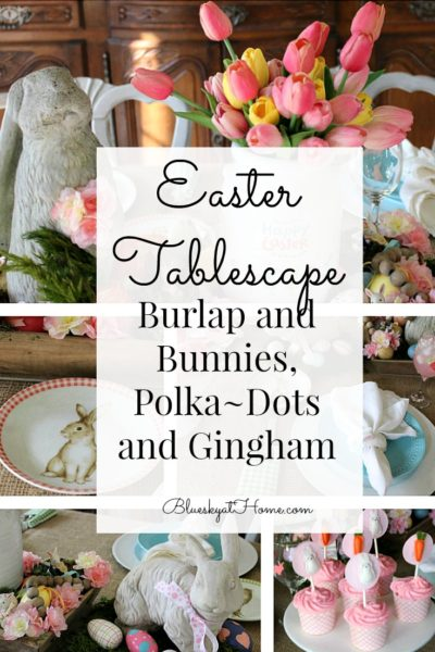 Easter tablescape 2019 graphic
