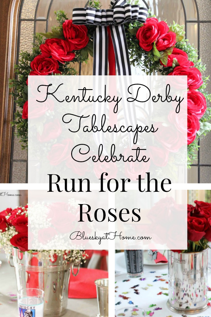 Kentucky Derby Tablescapes Celebrate Run For The Roses Bluesky