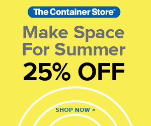 The Container Store Summer Sale