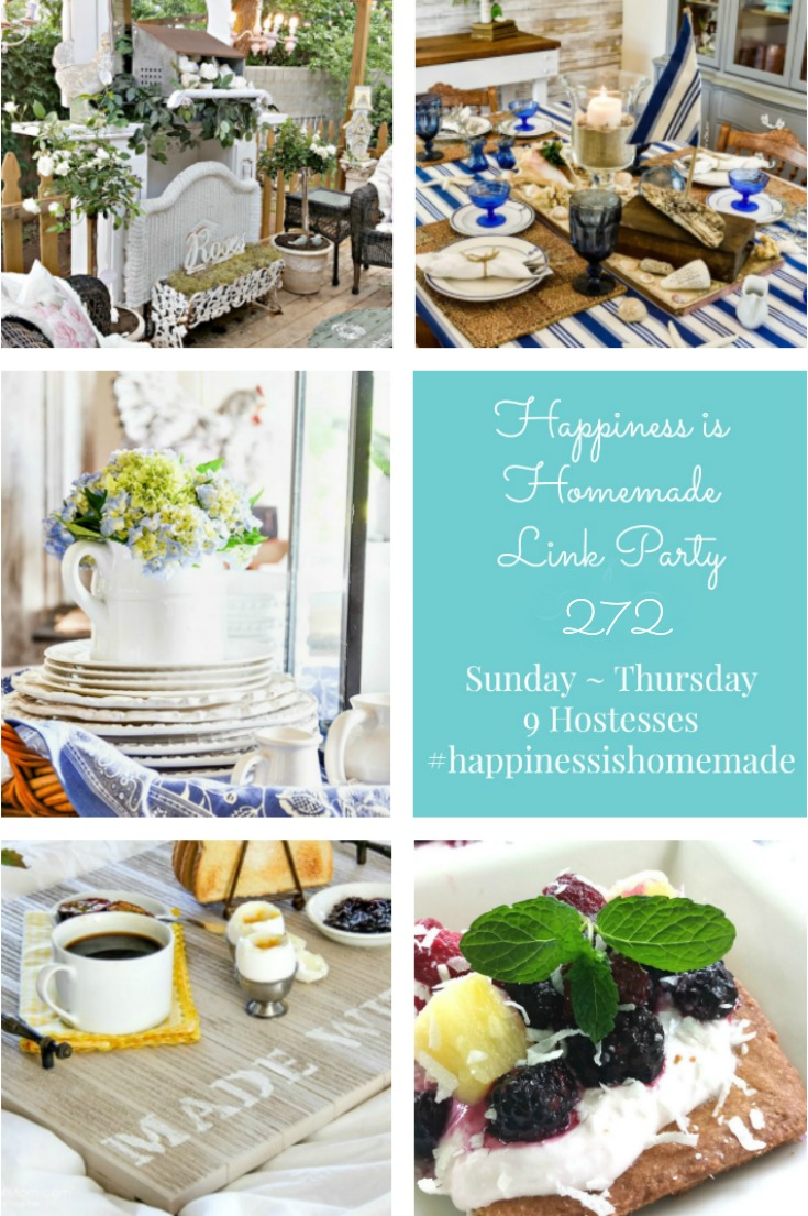 Happiness is Homemade Link Party 272 graphic