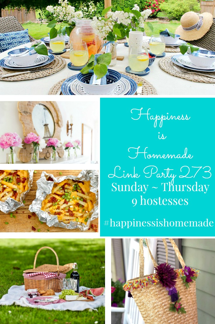 Happiness is Homemade Link Party 273 graphic