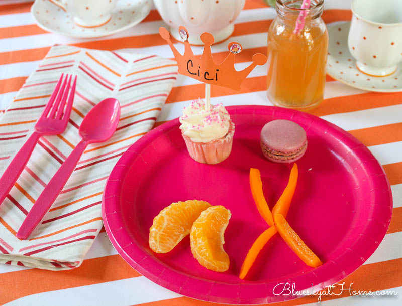 food for spring tea party