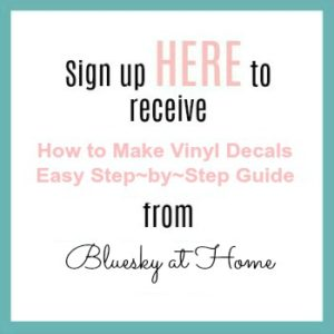 Step by Step Guide to Making Vinyl Decals