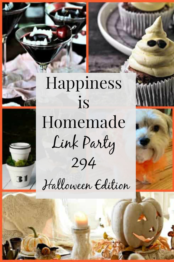 Happiness is Homemade Link Party 294