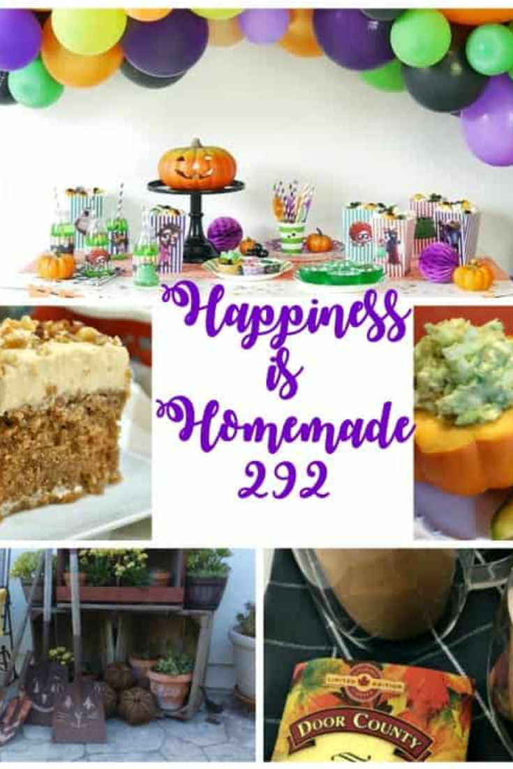 Happiness is Homemade Link Party 292
