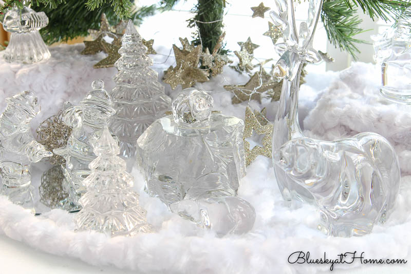 Crystal angels and trees