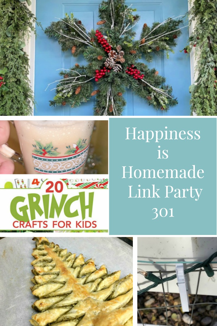 Happiness is Homemade Link Party 301