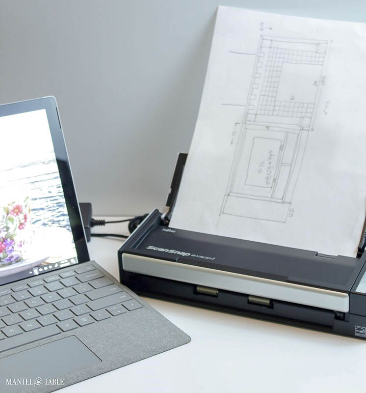 laptop and scanner